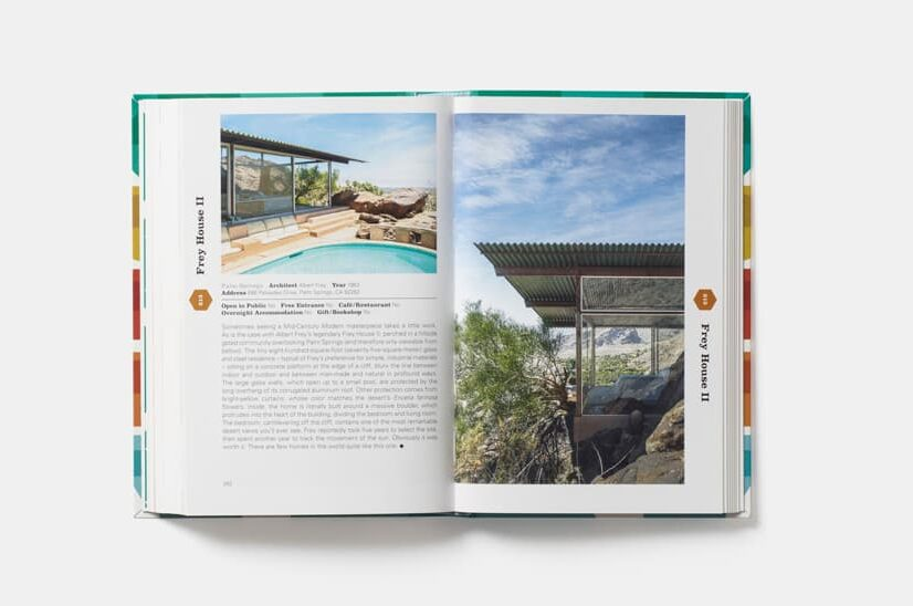 this is inside Mid-Century Modern Architecture Travel Guide- West Coast USA