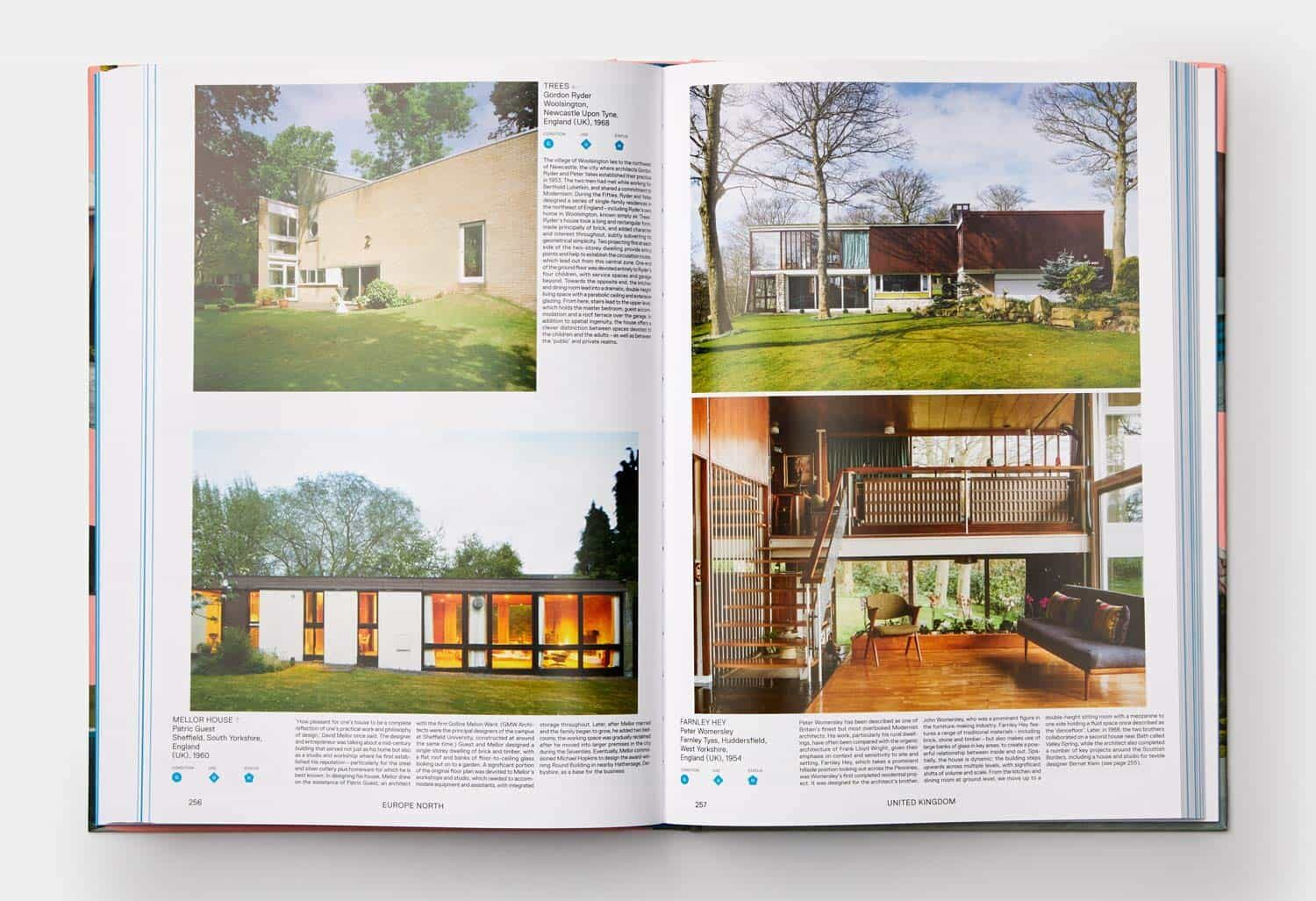 this is inside of the atlas of mid century modern houses