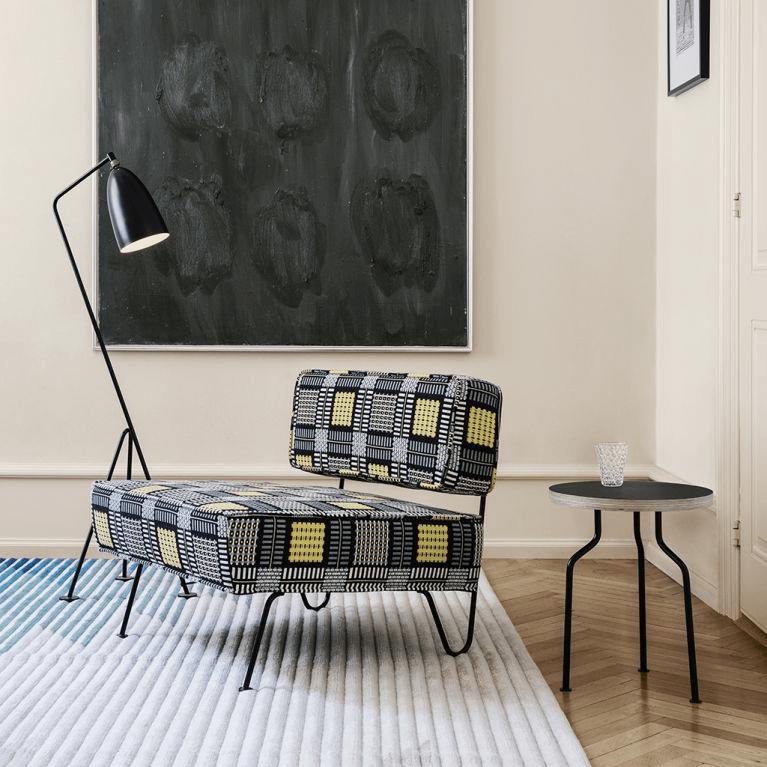 this is the Gräshoppa Floor Lamp designed by Greta Grossman
