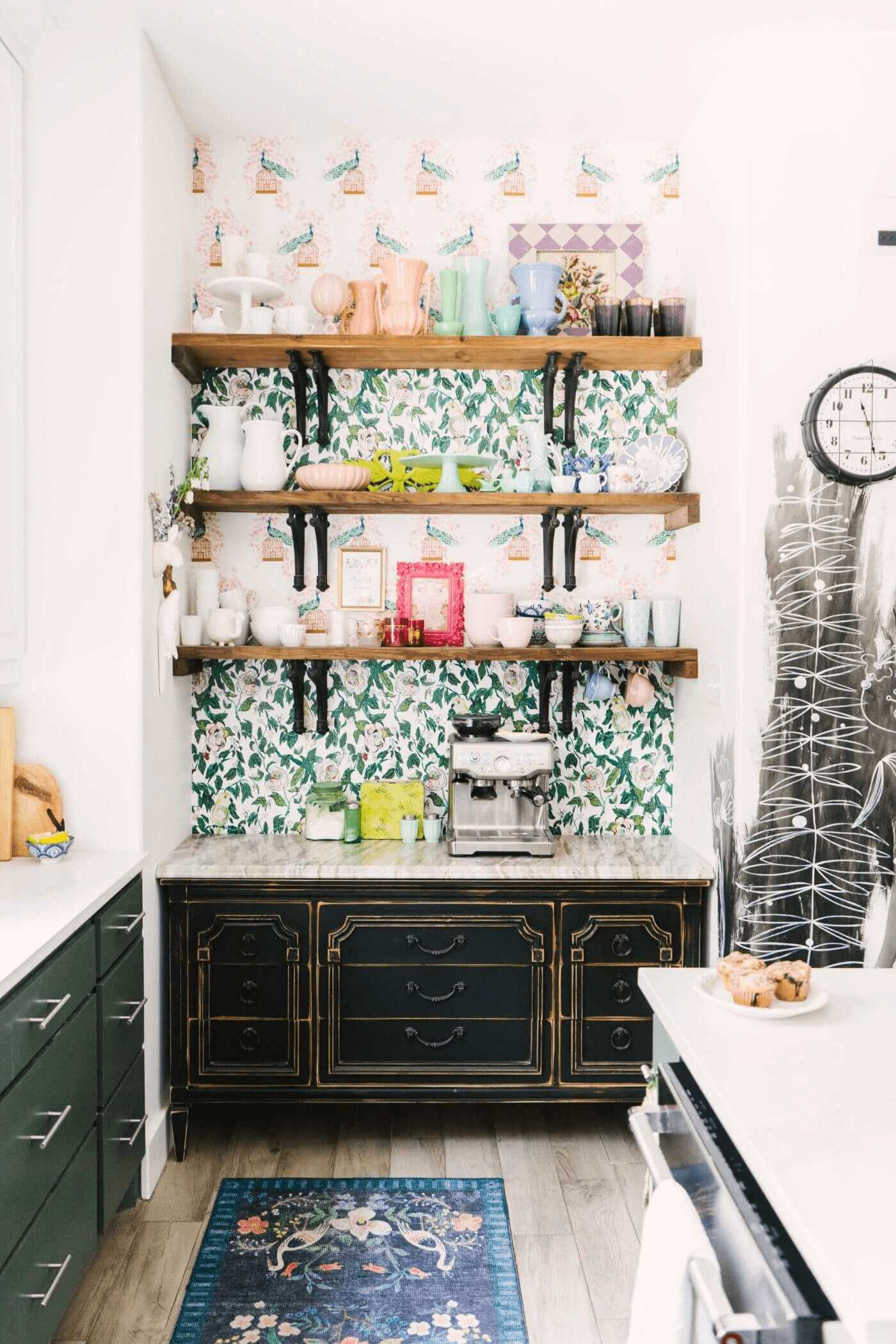 this-is-a-farmhouse-kitchen-with-a-vintage-and-rustic-cabinets-and-marble-top