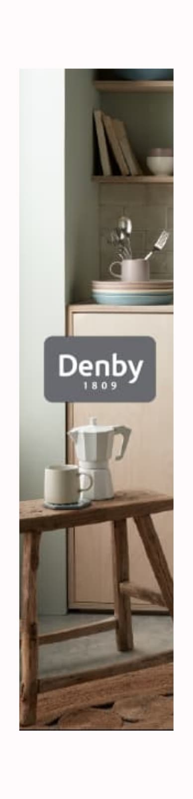 this is a denby banner ad