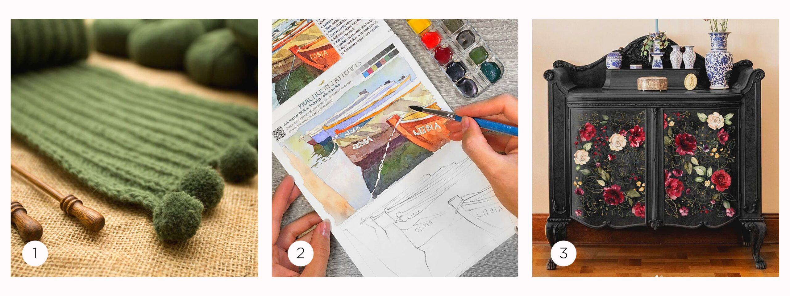 this is an etsy feed for creative projects