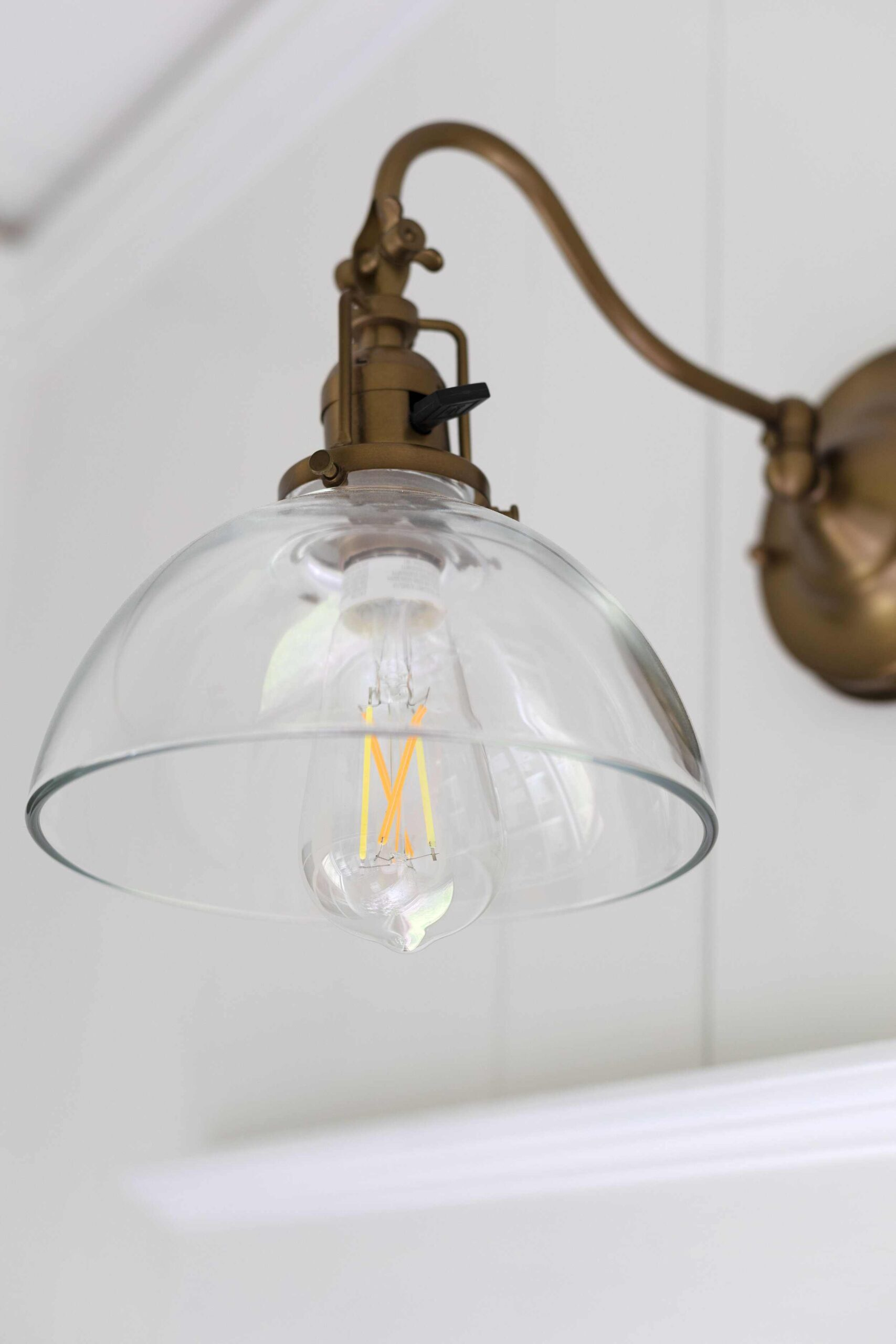 this is a smart bulb in the grit and polish smart home