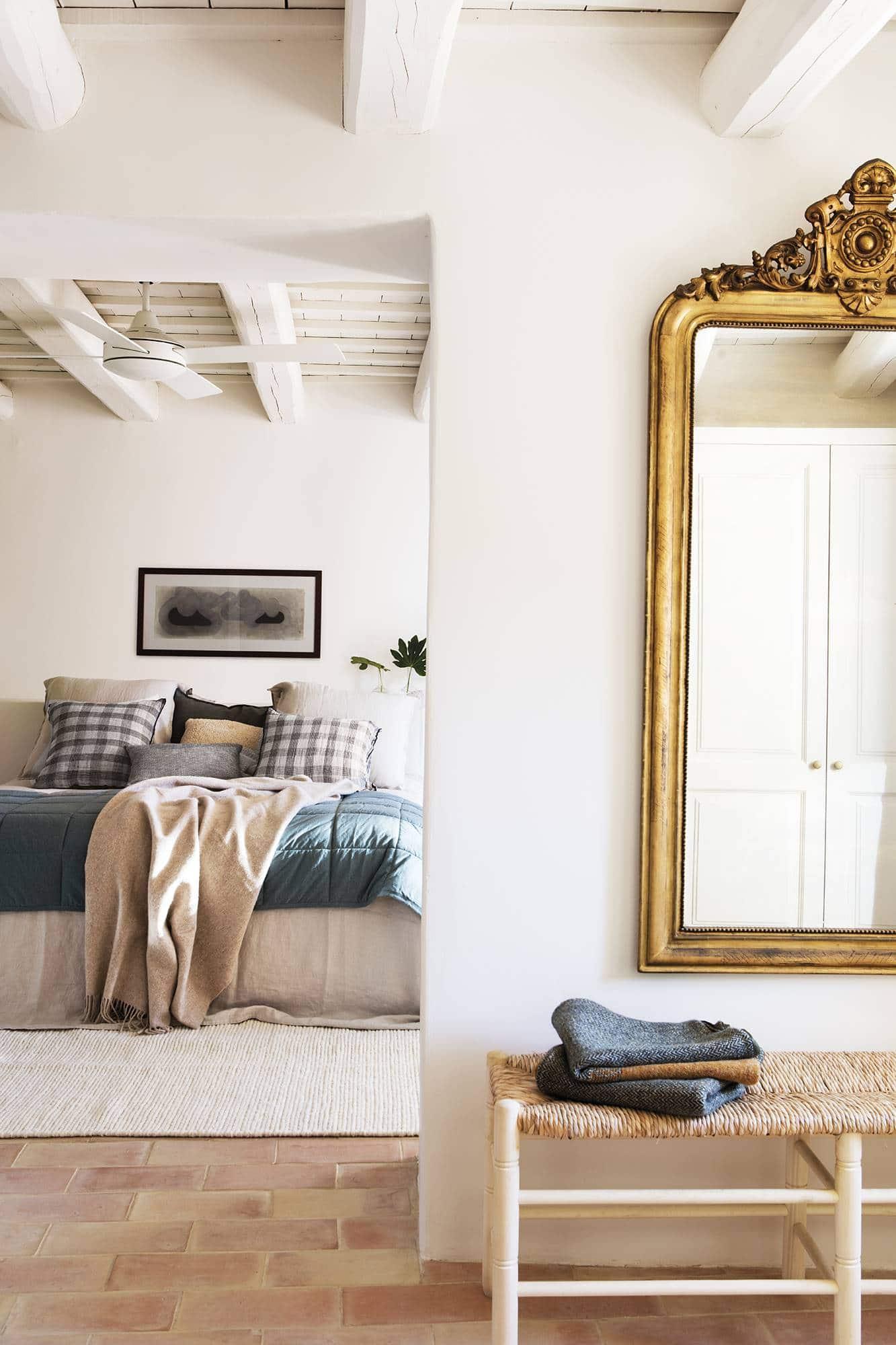 this is a calming bedroom by el mueble