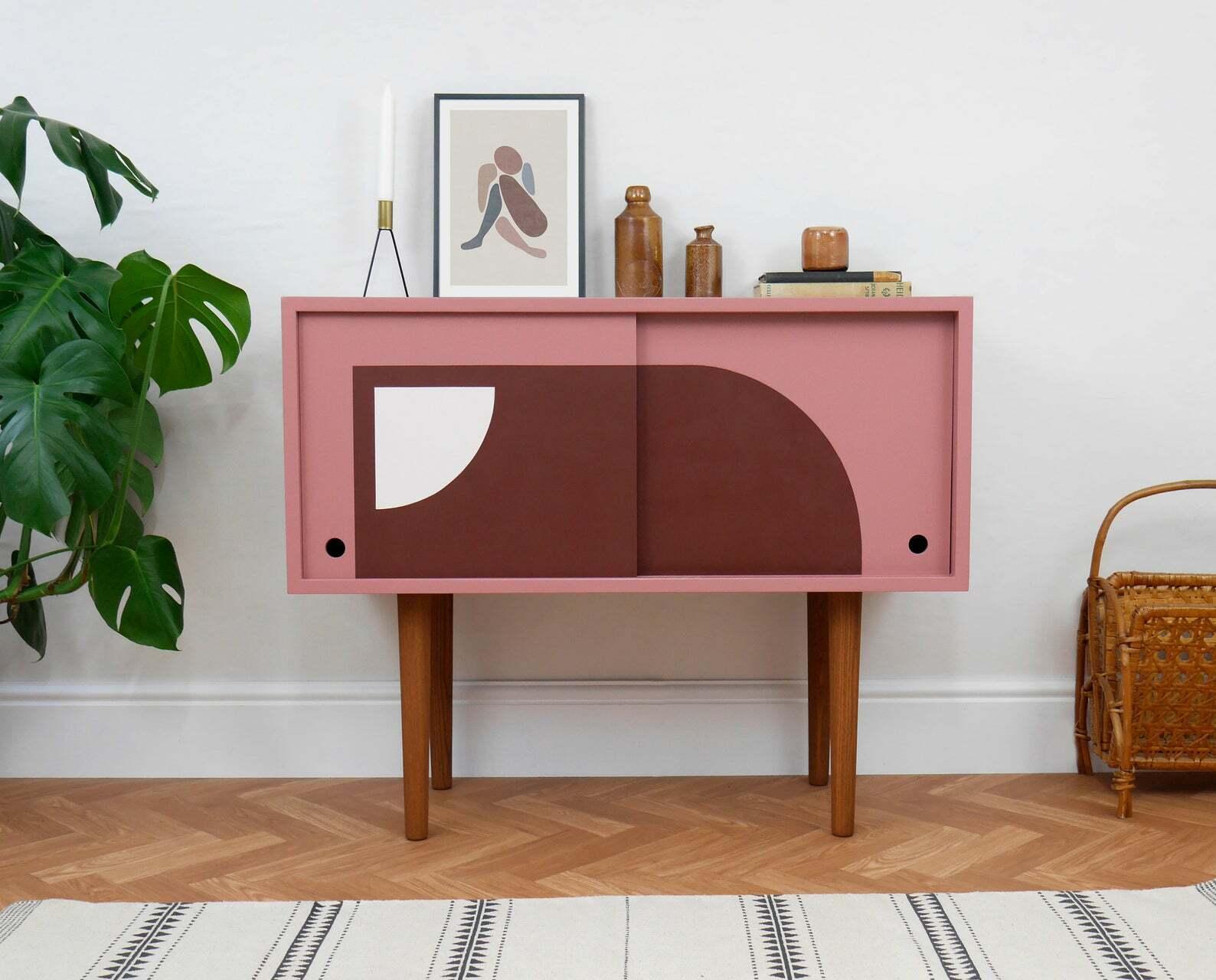 this is a vinyl storage cupboard