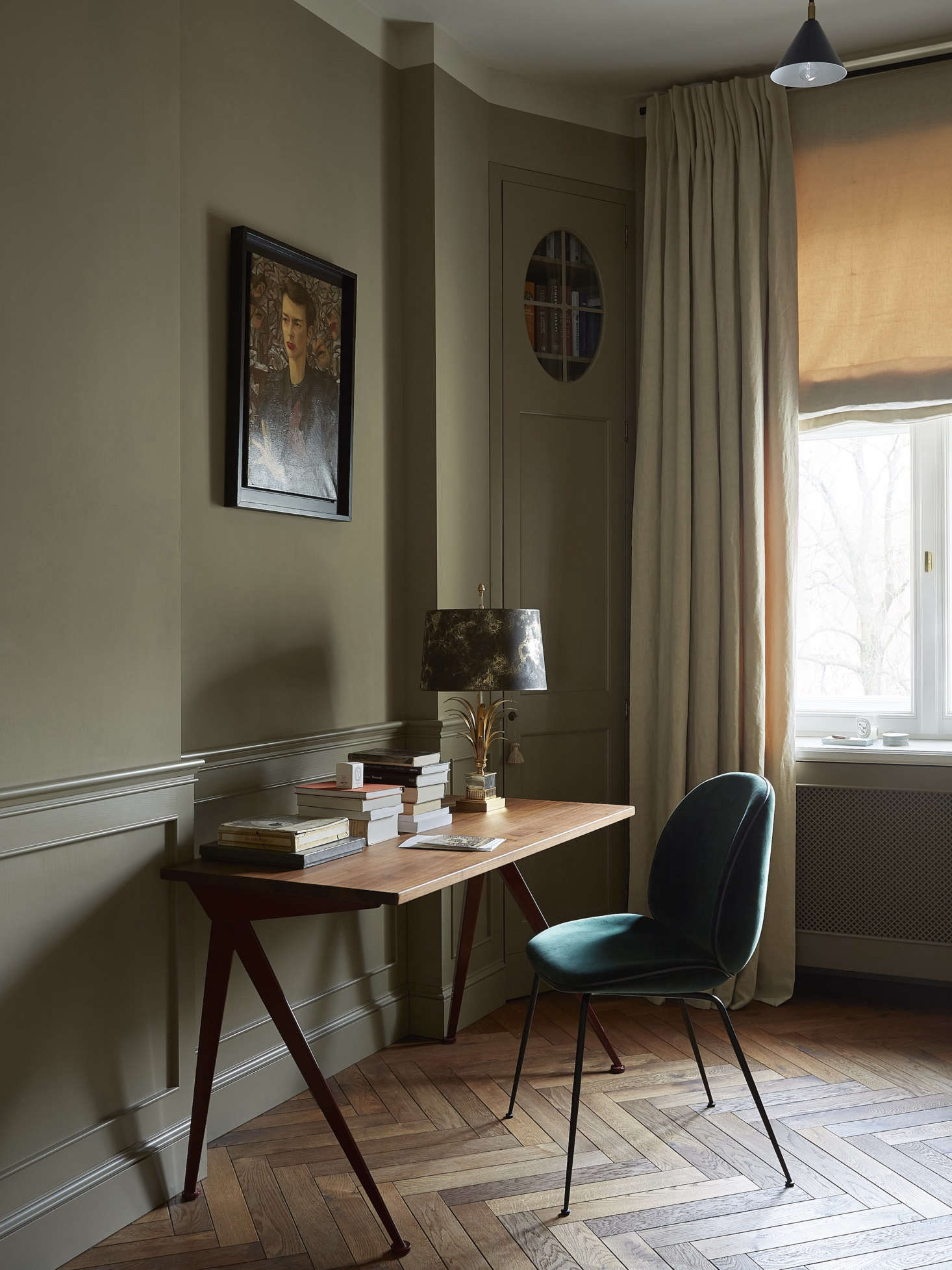 this is a small studio by colombe studio