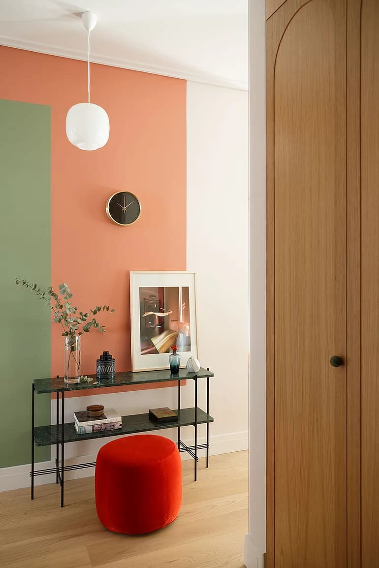 Make A Statement: Colour Blocking Your Walls