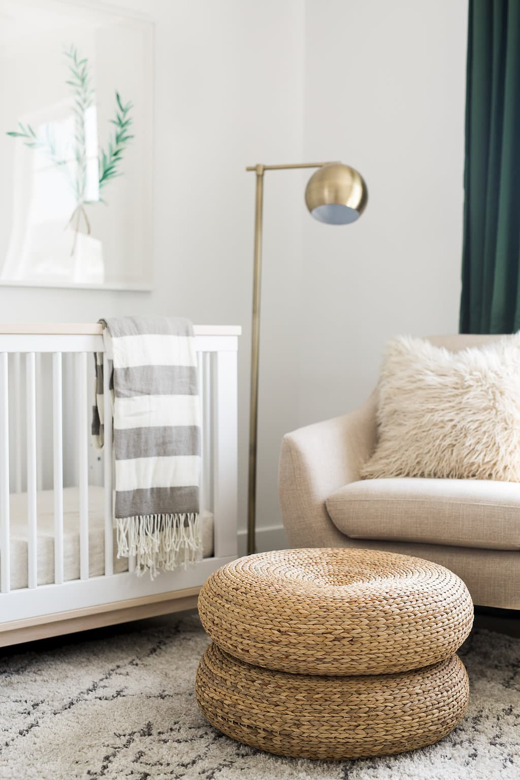 this is a iron horse model nursery by Akin Design Studio