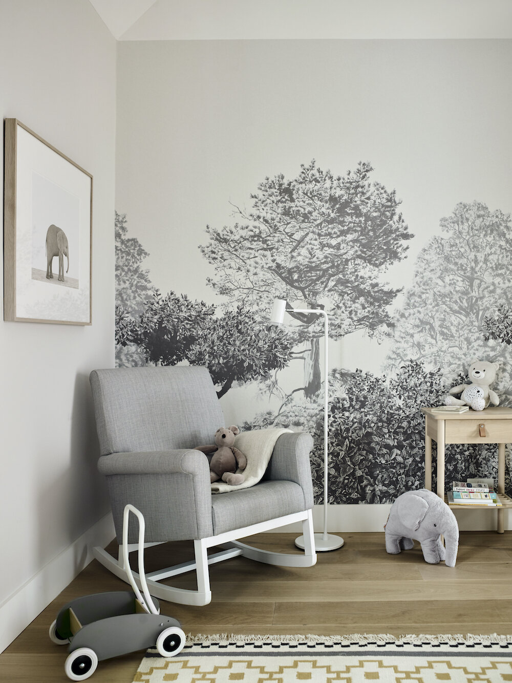 this is a nursery inside a notting hill family home designed gunter and co
