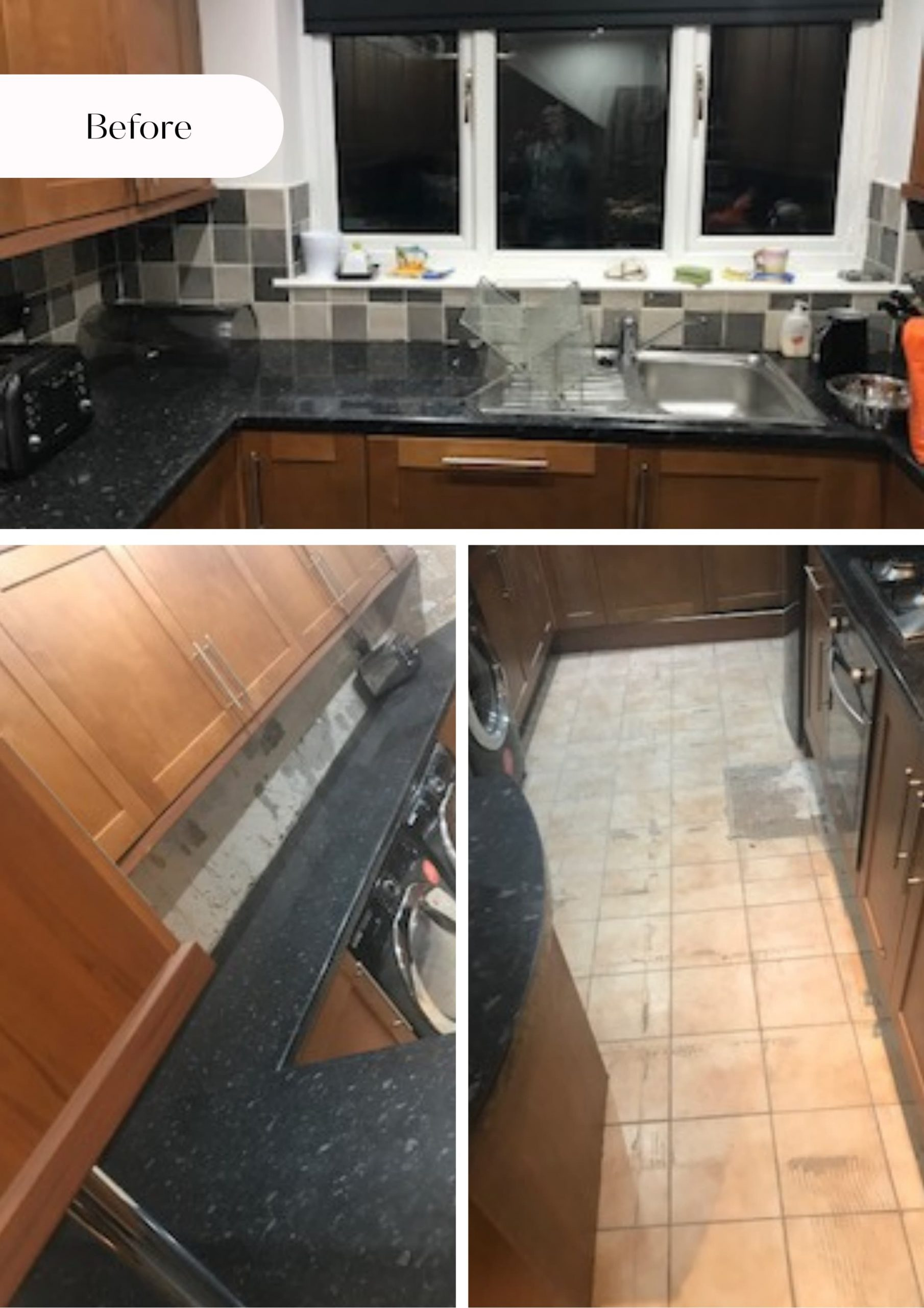 this is jackie's kitchen before the upcycling project