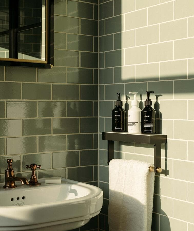 this is the bathroom in the hoxton hotel in london