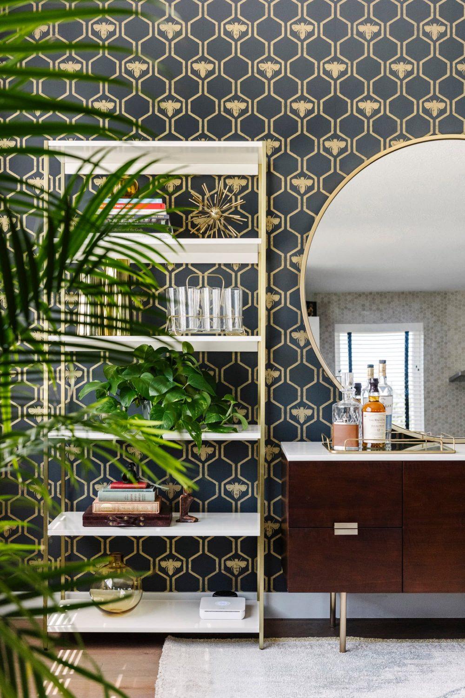 10 Favourites: Classic Mid Century Modern Wallpaper